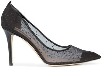 Sarah Jessica Parker Collection mesh pointed pumps