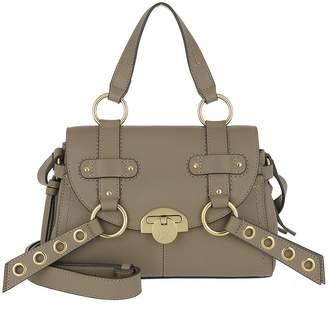 See by Chloe Allen Shoulder Bag Leather Motty Grey
