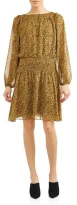 TEXTILE Women's Priscilla Gathered Neck Waist Dress