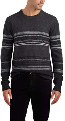 Barneys New York MEN'S FAIR ISLE WOOL SWEATER