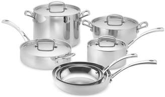 Cuisinart French Classic Tri-Ply Stainless-Steel 10-Piece Cookware Set