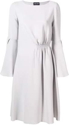 Giorgio Armani bell sleeve dress