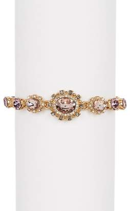 Marchesa Crystal Halo Bracelet