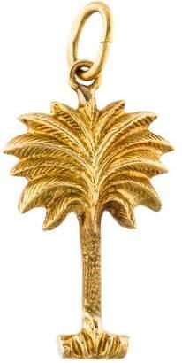 Charm 18K Palm Tree