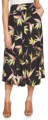 Women's 1.state High Waist Midi Skirt $89 thestylecure.com