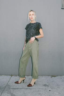 Rag Doll Ragdoll SURPLUS PANT Army Green