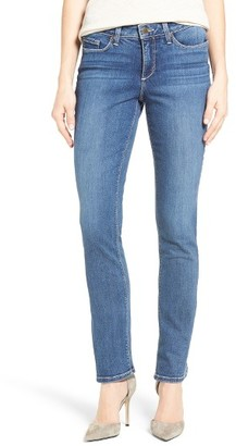 Women's Nydj Parker Stretch Slim Leg Jeans $114 thestylecure.com