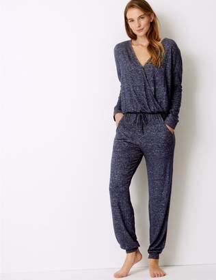 Marks and Spencer Cosy Knit Textured Onesie