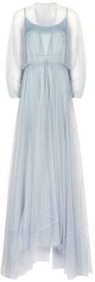 Jenny Packham Glitter Tulle Gown
