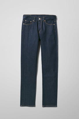 Weekday Vacant Unwashed Jeans - Blue
