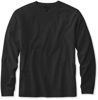 L.L. Bean L.L.Bean Carefree Unshrinkable Tee,Traditional Fit Long-Sleeve