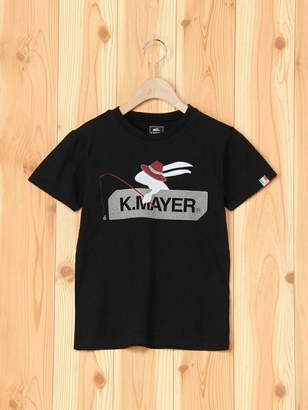 Kriff Mayer (クリフ メイヤー) - KRIFF MAYER (K)ブランドロゴT(釣り) クリフメイヤー カットソー