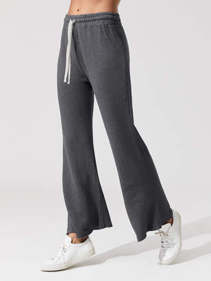 High Waisted Flare Sweat
