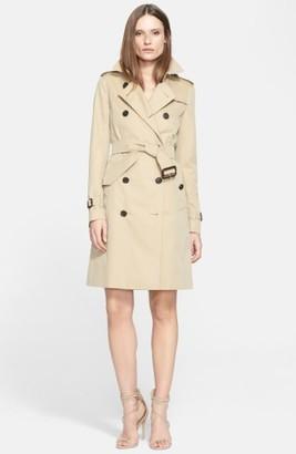 Women's Burberry Kensington Long Trench Coat