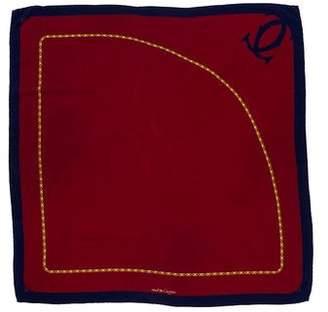 Cartier Logo Silk Scarf