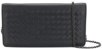Bottega Veneta nero Intrecciato nappa continental wallet