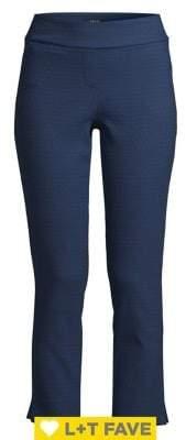 Isaac Mizrahi Imnyc Jacquard Ankle Pants