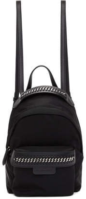 Stella McCartney Black Mini Falabella Go Backpack