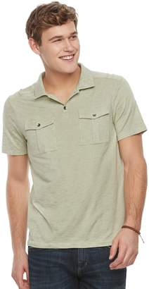 Rock & Republic Men's Military Polo
