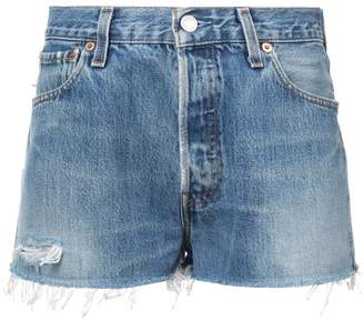 RE/DONE faded shorts