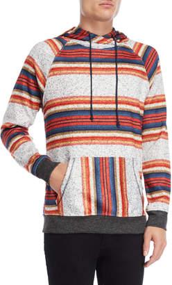 Brooklyn Cloth Cozy Knit Striped Hooded Sweatshirt