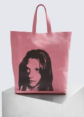 Calvin Klein Soft Andy Warhol Tote