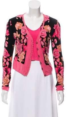 Blumarine Floral Cardigan Set