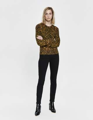 Paco Rabanne Leopard Mohair Sweater