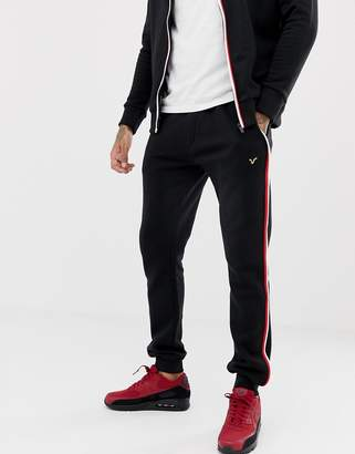 Voi Jeans Tracksuit Joggers With Contrast Piping