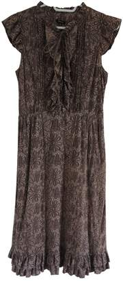 Tocca Brown Cotton Dress for Women