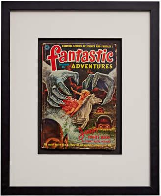 Rejuvenation Framed Pulp Novel of Fantastic Adventures: Jongor Fights Back