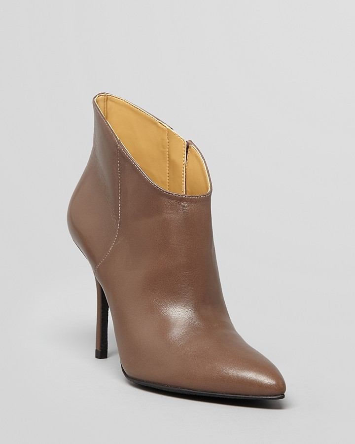 Enzo Angiolini Pointed Toe Booties - Parita High Heel