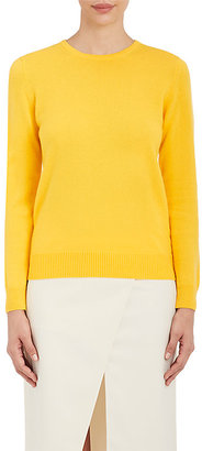Barneys New York Women's Cashmere Crewneck Sweater $425 thestylecure.com