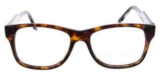 Stella McCartney Square Tortoiseshell Eyeglasses