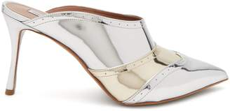 Tabitha Simmons Blade brogue-detail leather mules