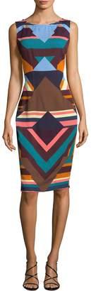 Tracy Reese Women's Layer Print Sheath Dress