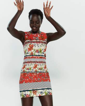 Desigual Karin Printed Sleeveless Sheath Dress