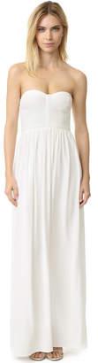 Parker Parker Black Bayou Silk Gown $298 thestylecure.com