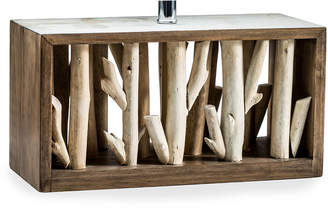 Vandue Nautical Driftwood Box Table Lamp