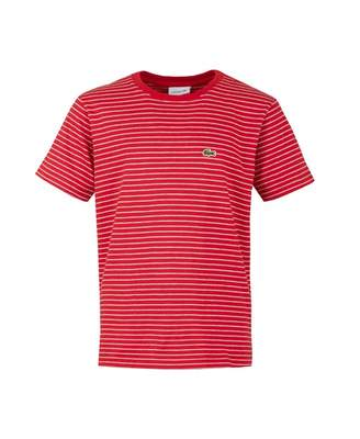 Lacoste Striped Classic Logo T-shirt