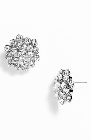Nina 'Marseill' Round Cluster Stud Earrings