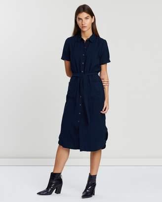 Whistles Montana Longline Shirt Dress