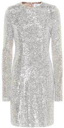 Galvan Dusk sequined minidress
