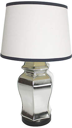 One Kings Lane Vintage Glass Table Lamp