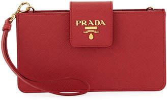 Prada iPhoneA Case Wallet On Chain