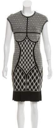 Alexander McQueen Knit Knee-Length Dress