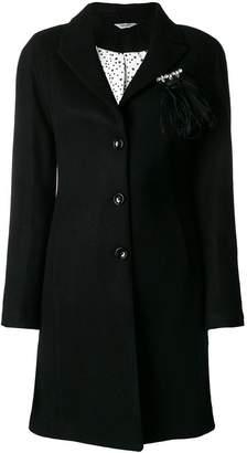 Liu Jo feather embellished coat