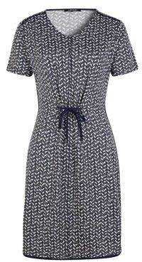 Olsen Casual Coast Chevron Shirt Dress