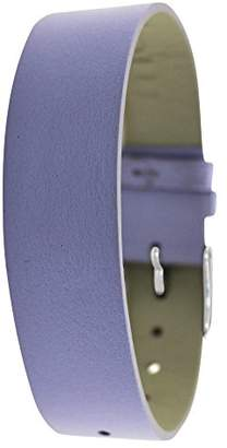 Moog Paris SC-05 Smooth Calf Leather Iridescent Pearl Finish Watch Strap