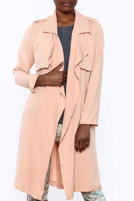 1 Funky Lightweight Trench Coat $40 thestylecure.com